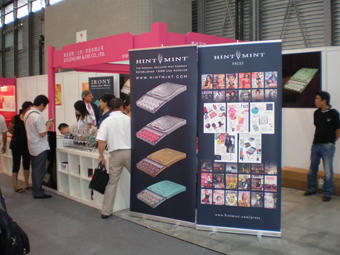 HINTMINT Shanghai booth